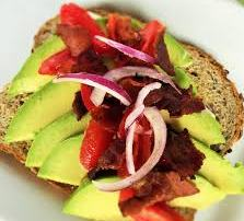sandwich with avocado